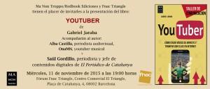 Invitación - Youtuber buena